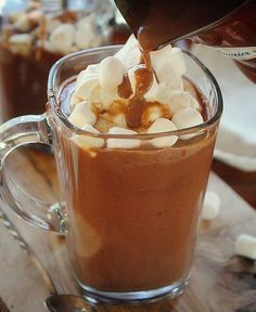 Spanish Hot Cocoa~ a decadent experience!
