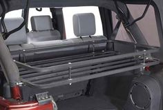 Olympic 4x4 Products Mountaineer Rack for Jeep Wrangler Unlimited 4 Door 2007-2013 in Textured Black Powder Coat