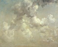 """'Always try and keep a patch of sky above your life' – Marcel Proust (John Constable, Study of Clouds, Landscape Art, Landscape Paintings, Landscape Photos, English Romantic, Sky Art, Sky And Clouds, Painting & Drawing, Painting Clouds, Painting Styles"
