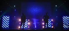 Arrow Boxes from Trinity Church in Mesa, AZ | Church Stage Design Ideas