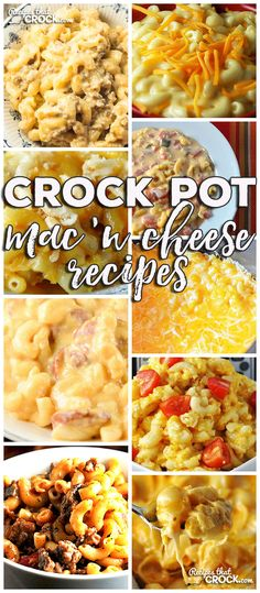 This week for our Friday Favorites we have some yummy Crock Pot Mac 'n Cheese Recipes like Crock Pot Smoked Sausage Mac 'n Cheese, Old Fashioned Crock Pot Mac 'n Cheese, Crock Pot Golden Mac n Cheese, (Mac N Cheese) Crockpot Dishes, Crock Pot Slow Cooker, Crock Pot Cooking, Crockpot Recipes, Cooking Recipes, Crock Pots, Freezer Recipes, Supper Recipes, Side Dish Recipes