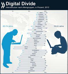 Digital Divide, OECD statistic