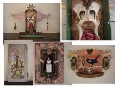 some of my assemblage art