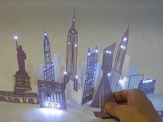 Pop up and Soft-Circuits combined!! jie qi's interactive pop-up book by leahbuechley, via Flickr