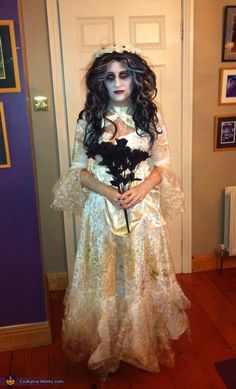 Sorcha: This is me in the picture wearing my homemade corpse bride costume. I don't usually dress up for Halloween so decided to go all out this year. I wanted to...