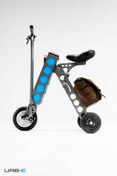urb-scooter…just fab!  see here: http://blog.gessato.com/2014/02/15/the-urb-e-scooter/