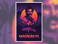 magnum p i poster magnum magnum pi