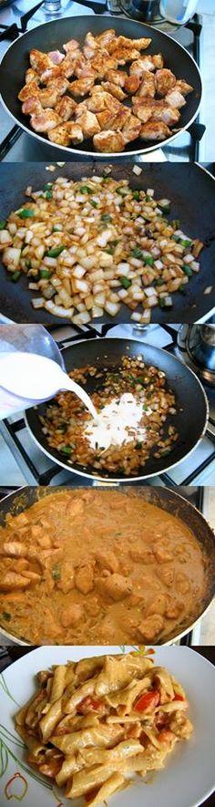 Bayou Chicken Pasta Recipe