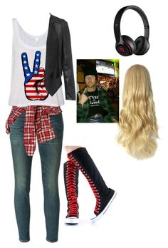 I love this outfit, the shirt is so cute, I wish I had the shoes, and I wish I could fit into those jeans without popping the seams<3