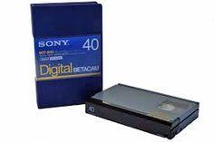 Digital Betacam video tape