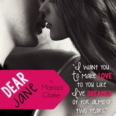 Dear Jane by Marissa Clarke from Entangled Publishing