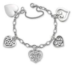 Heart Charm Bracelet at James Avery
