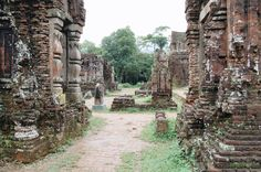 The mysterious temple ruins of My Son in Central Vietnam
