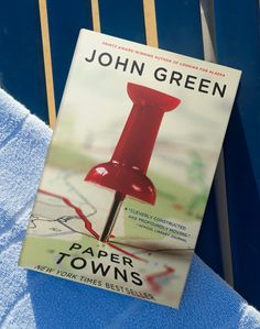 Sit down with Paper Towns in-between ports.