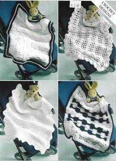 Sirdar 3086 Crocheted Baby Blankets in Double Knitting Weight Beginner Knitting Projects, Knitting For Beginners, Crochet Projects, Knitting Designs, Crochet Designs, Knitting Patterns, Knit Or Crochet, Easy Crochet, Crochet Hats