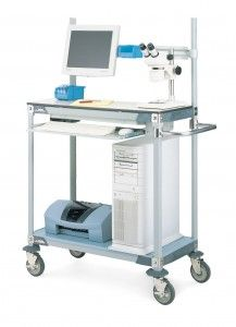 Mobile Work Stations For Healthcare Professionals