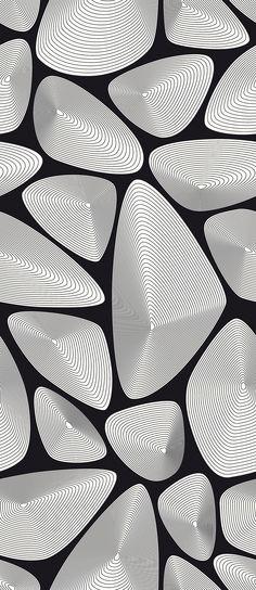Ocean Shells - Black