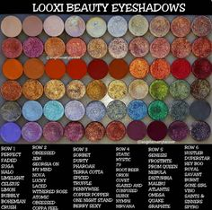 LOOXI BEAUTY EYESHADOWS  – Our Beauty Cult