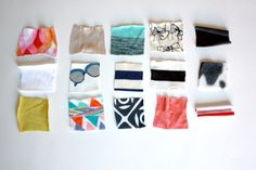 Overview of knit fabrics - One Little Minute Blog - So many choices!