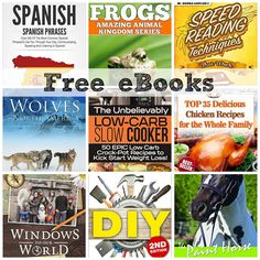 FREE EBOOKS: Speed Reading Techniques That Work, Top 35 Easy Snacks + More!