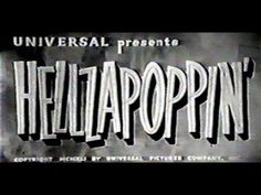 Whiteys Lindy Hoppers - Hellzapoppin' (1941) Lindy Hop! - YouTube