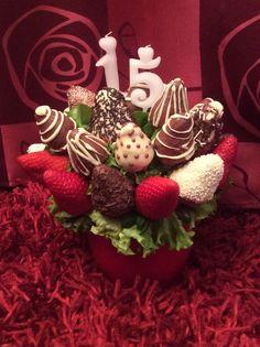Strawberry bouquet