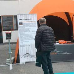 interalpin 2017 innsbruck ❄ #österreich #rescue #avalanchetraining #staysafe #austria #interalpin2017 #interalpin #innsbruck #messe