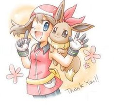 Pokemon May- perfect for posting on thank you cards!