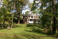 The Octagon House in Catskill, NY - a renovated architectural, octagonal masterpiece from 1860.