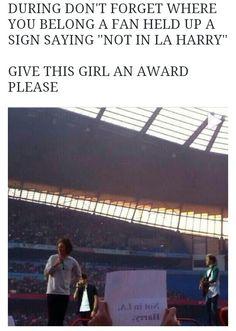 GIVE THIS GIRL AN AWARD