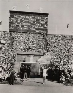 OLYMPIC GAMES OPENING CEREMONY (1948)