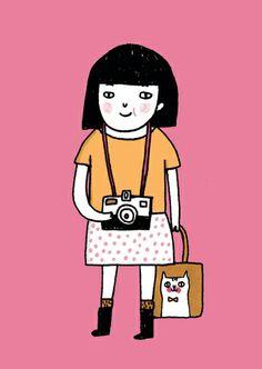 Cute illustration by Gemma Correll