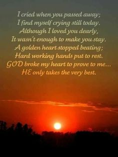 God broke my heart to prove to me, He only takes the best! Miss You Daddy, I Miss You, Love You, My Love, Pictures Of Boxer Dogs, Boxer Dog Breed, Missing My Husband, Missing You So Much, Grieving Quotes