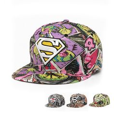 Korea New Cloth Hit-hop Street dance Hats Falt Brim Super Men Cap #Affiliate