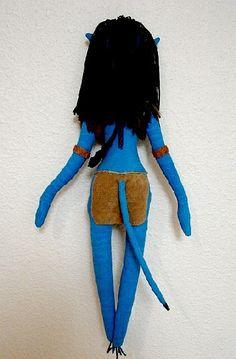 Avatar Art Doll-Neytiti Na'vi OOAK Take Orders to by charsdolls