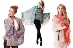 Designer Pashmina sjaal