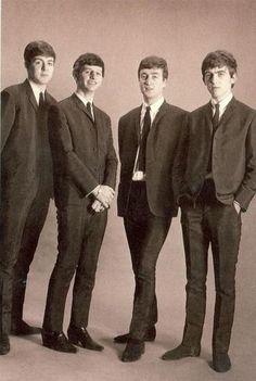 Paul McCartney, Richard Starkey, John Lennon, and George Harrison (early Days)