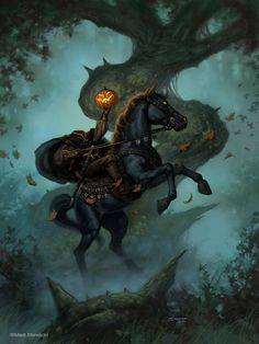 "The Headless Horseman"""
