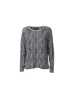 Izzina snakeprint long-sleeved T-shirt - # Q56589001 - By Malene Birger Autumn Winter 2014 - Women's fashion