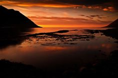 Another one for Beth!  sunset / Iceland by fr-brinks photography, via 500px