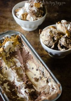 S'more Ice Cream Recipe