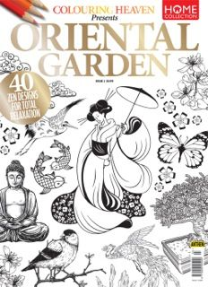 Now available to buy online and in store at WH Smith, Hobbycraft, Tescos and independent newsagents Colouring Pages, Coloring Books, Colouring Heaven, Oriental Flowers, Thoughts And Feelings, Hobbies And Crafts, American Art, Adult Coloring, Koi