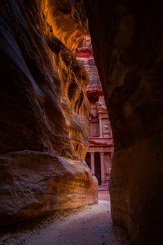 Petra,Jordan by Paul Pichugin