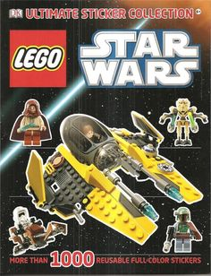 Lego Star Wars Ultimate Stickers Collection NEW 1000+ Reusable Color Luke Darth