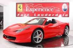FERRARI 458 SPIDER $ 389,900 for Sale in Fort Lauderdale, Florida Classified | AmericanListed.com