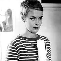 Jean Seberg's short pixie hair cut and French style... In love!