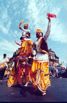 Bhangra, Punjab, India. If only my costume budget spread that far!