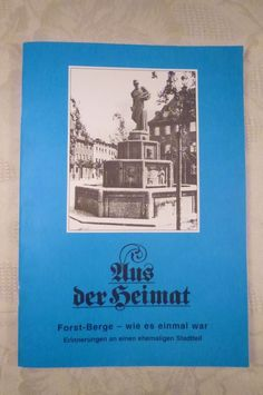 Aus der Heimat, Forst-Berge - wie es einmal war, (Forst Lausitz), 52 Seiten 2009