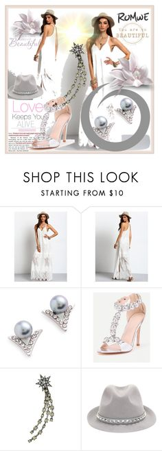 """""""ROMWE#2"""" by sabahetasaric ❤ liked on Polyvore featuring Marc Jacobs and Valentino"""