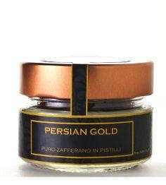 Purissimo #zafferano in pistilli (crocus sativus) nella qualità Persian Gold.